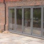 Brick bifold doors, Kidlington