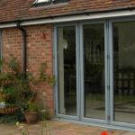 Garden bifold doors, Carterton