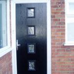 Black composite door, Kidlington