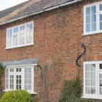 Brick casement windows, Wallingford