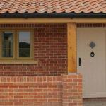 Brick composite doors, Oxford