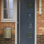 Commercial composite doors, Thame