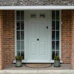 Green composite door, Watlington