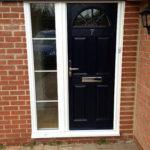 Dark composite door, Wallingford