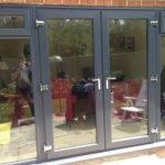 Dark patio doors, Witney