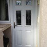 Grained composite door, Brize Norton
