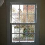 Interior sash window, Witney