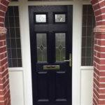 Leaded composite door, Oxford