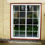 Leaded patio doors, Watlington