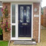 New composite door, Carterton