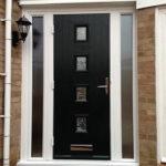 Panelled composite door, Abingdon