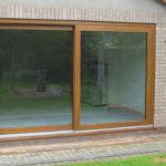 Brown patio doors, Summertown