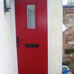 Red composite door, Oxfordshire