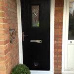 Square composite door, Rose Hill