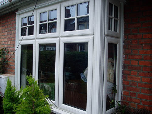 Timber alternative bay windows, Oxford