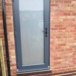 uPVC back door, Oxford