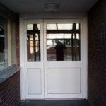 White aluminium door, Bicester