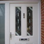 White composite door, Oxfordshire