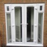 White patio doors, Charlgrove