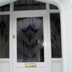 White wooden door, Kidlington