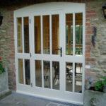 Wooden back door, Watlington