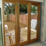 Wooden door fitting, Thame