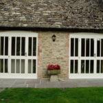 Wooden door pairs, Abingdon