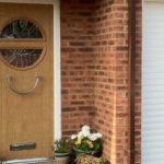 Wooden front door, Abingdon