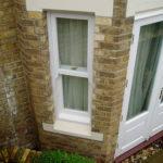 Wooden sash window, Wallingford