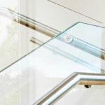 Detailed glass balustrade, Witney