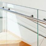 Office glass balustrade, Kidlington