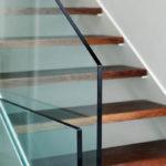 Stairs glass balustrade, Carterton