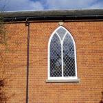Stained glass leading, Watlington