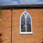 Leaded church window, Summertown